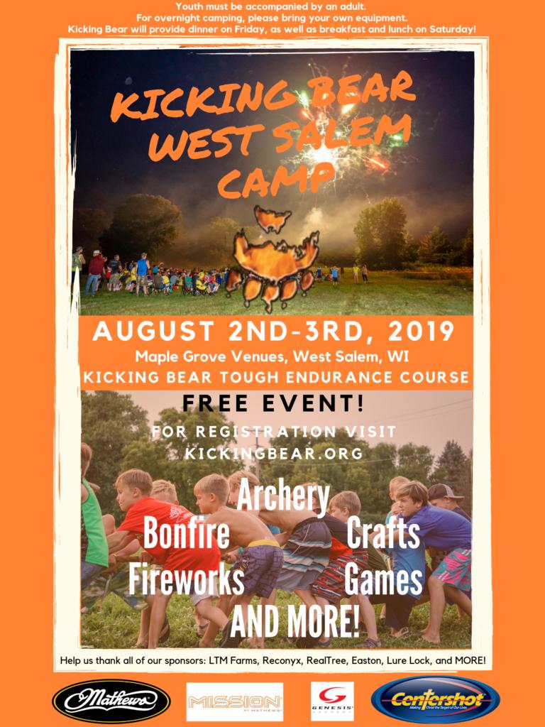 Kicking Bear West Salem Camp!