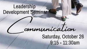 Leadership Development Seminar - Communication