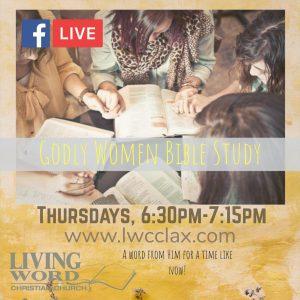 Godly Women Bible Study - Online